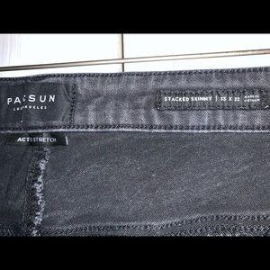 PacSun Jeans - Men's PacSun Active Stretch, black skinny jeans.
